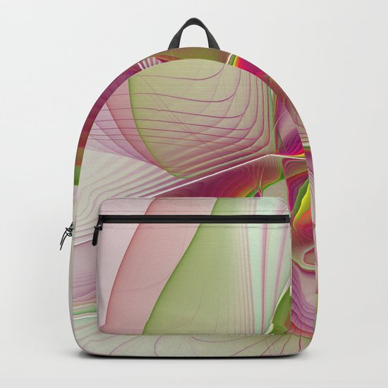 Another Colorful Beauty Abstract Fractal Art Backpack
