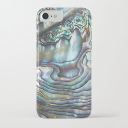 Shimmery Pastel Abalone Shell iPhone Case