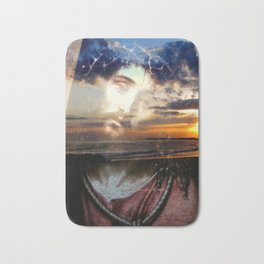 For God So Loved The World By Annie Zeno Bath Mat