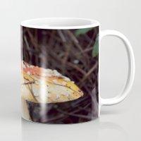 mushroom Mugs featuring Mushroom  by Dee Reimer