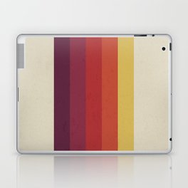 Retro Video Cassette Color Palette Laptop & iPad Skin