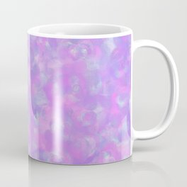 Lilac Clouds - Speckled Floral Watercolor Texture Coffee Mug