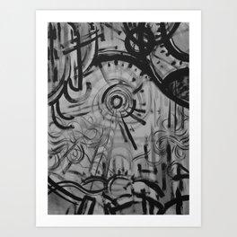 Sun/Wind Art Print