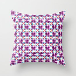 Magic in purple Throw Pillow