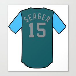Kyle Seager Players' Weekend Jersey Canvas Print
