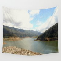 australia Wall Tapestries featuring Highlands - Australia by Chris' Landscape Images & Designs