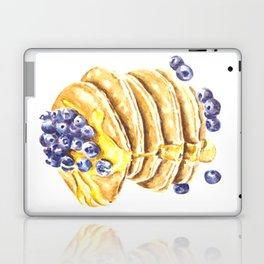 Pancake Stack Watercolor Painting Laptop & iPad Skin