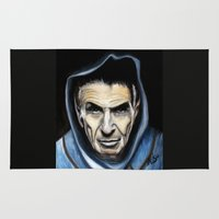 spock Area & Throw Rugs featuring Spock by James Kruse