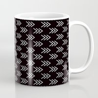 arrows Mugs featuring Arrows by Priscila Peress