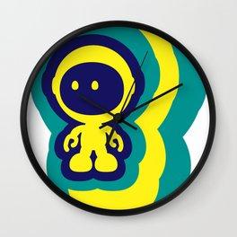 Spaceman 04 Wall Clock