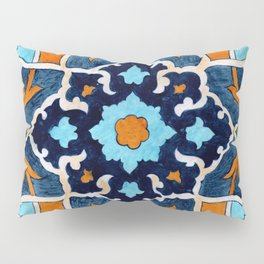 Mediterranean tile Pillow Sham