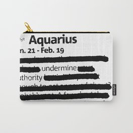 Aquarius 1 Carry-All Pouch