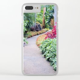 Garden Path Clear iPhone Case