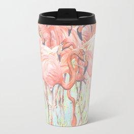 Flamingo Meadow Travel Mug