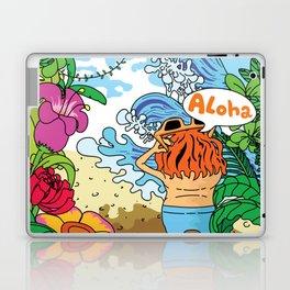 Lost in tropic island Laptop & iPad Skin