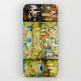 The Garden of Earthly Delights by Bosch iPhone Skin