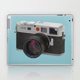 Leica M9 Camera polygon art Laptop & iPad Skin