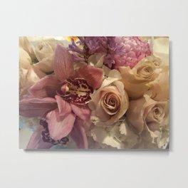 Stolen Flowers  Metal Print