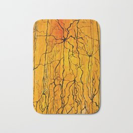 Neural Activity (An Ode to Cajal) Bath Mat