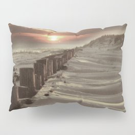 Fort Tilden Beach NYC sunset Pillow Sham