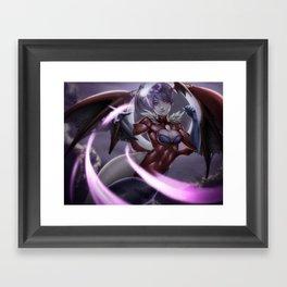 Lilith - Darkstalkers Framed Art Print