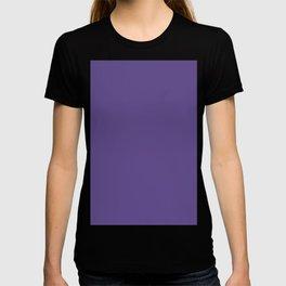 Ultra Violet Solid Colour Palette Matte T-shirt