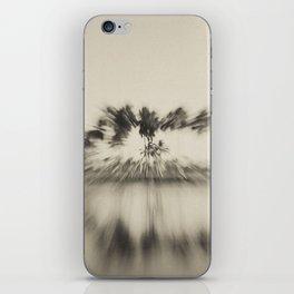 Zooming Tree iPhone Skin