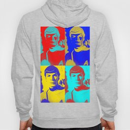 Science Officer Spock (Andy Warhol Remix) Hoody