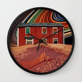 Saturn vibes Wall Clock