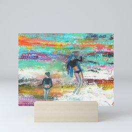 Sea Gypsies Mini Art Print