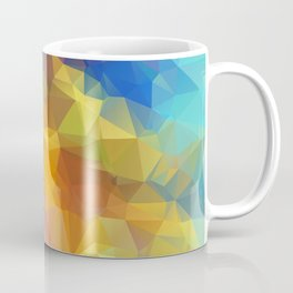 Blue girl Coffee Mug