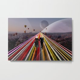 Together We Made It Metal Print