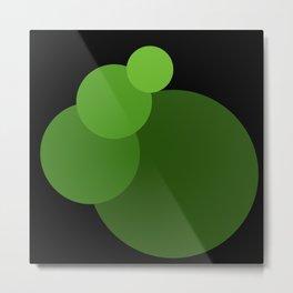 Gradient Circles 1 Metal Print