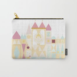 Happy Castle - Pink Variation Carry-All Pouch