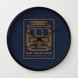 San Francisco 02 Wall Clock
