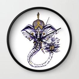 Space Ganesha Wall Clock