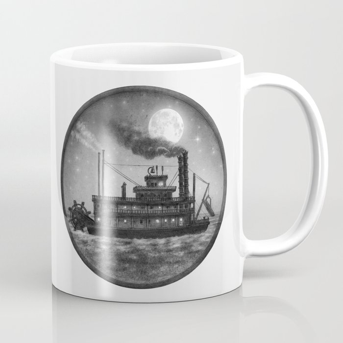 Paddle Boat  Coffee Mug