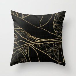 Coronary Contemporary 4 Throw Pillow