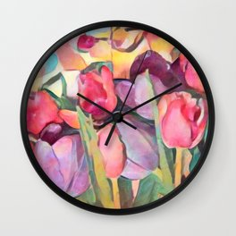 Spring Eternal Hope Wall Clock