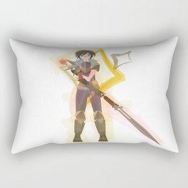 Dragon Age - Hawke of Diamonds [Card Suit Series] Rectangular Pillow