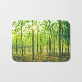 A lot of green trees Bath Mat