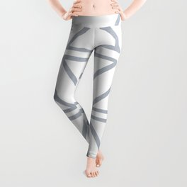 Big Triangles in Grey Leggings