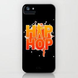 Hip Hop Party Hip Hop Music Rap Hip Hop iPhone Case