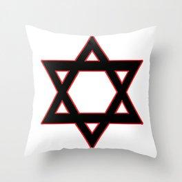 Jew Boy Vs. Reaper Man Throw Pillow