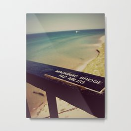Lake Michigan Horizon Metal Print