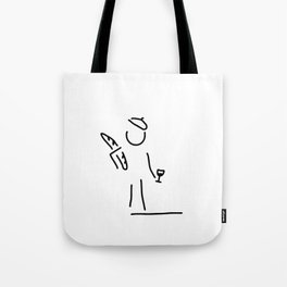 French person Tote Bag