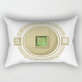 Earth Kingdom General Rectangular Pillow
