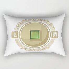 Earth Kingdom General Rectangular Pillow