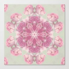 think pink (pattern) Canvas Print
