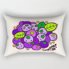 Team Blueberries (Coloured) Rectangular Pillow